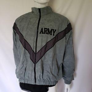 Army Zip Up Jacket